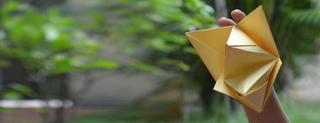 Boquinha de Origami
