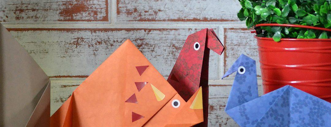 [Dica de Livro] Origami Dinossauros
