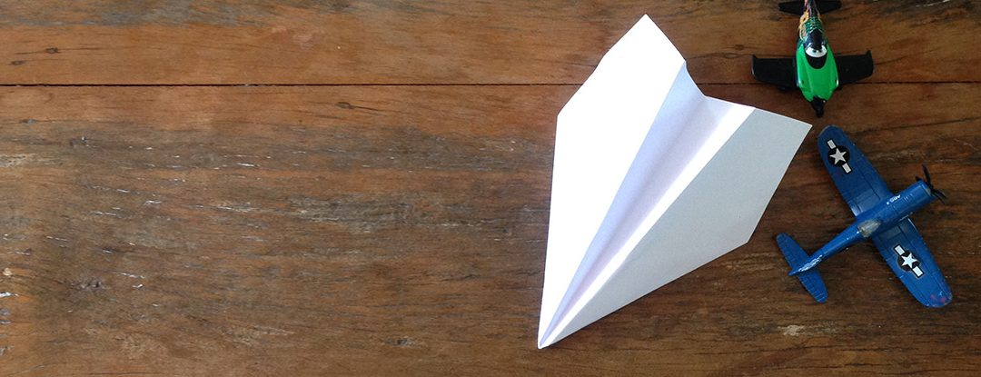 O Avião de Papel do John Collins