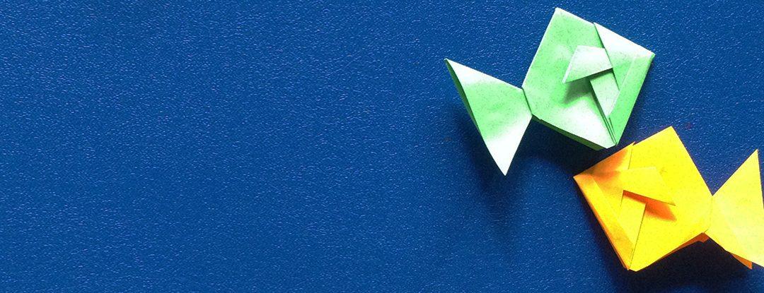 Peixe de Origami