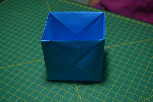 Como Fazer Uma Caixa De Origami Simples Origami Passo A Passo
