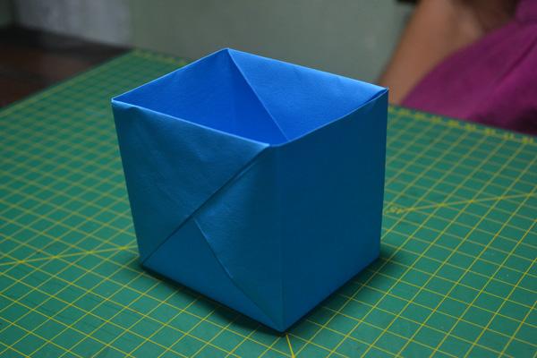 Caixa de Origami Simples